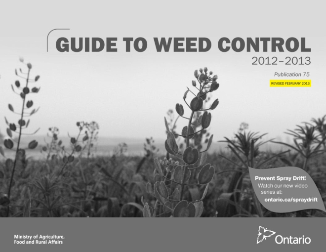 Picture-Guide to Weed Control