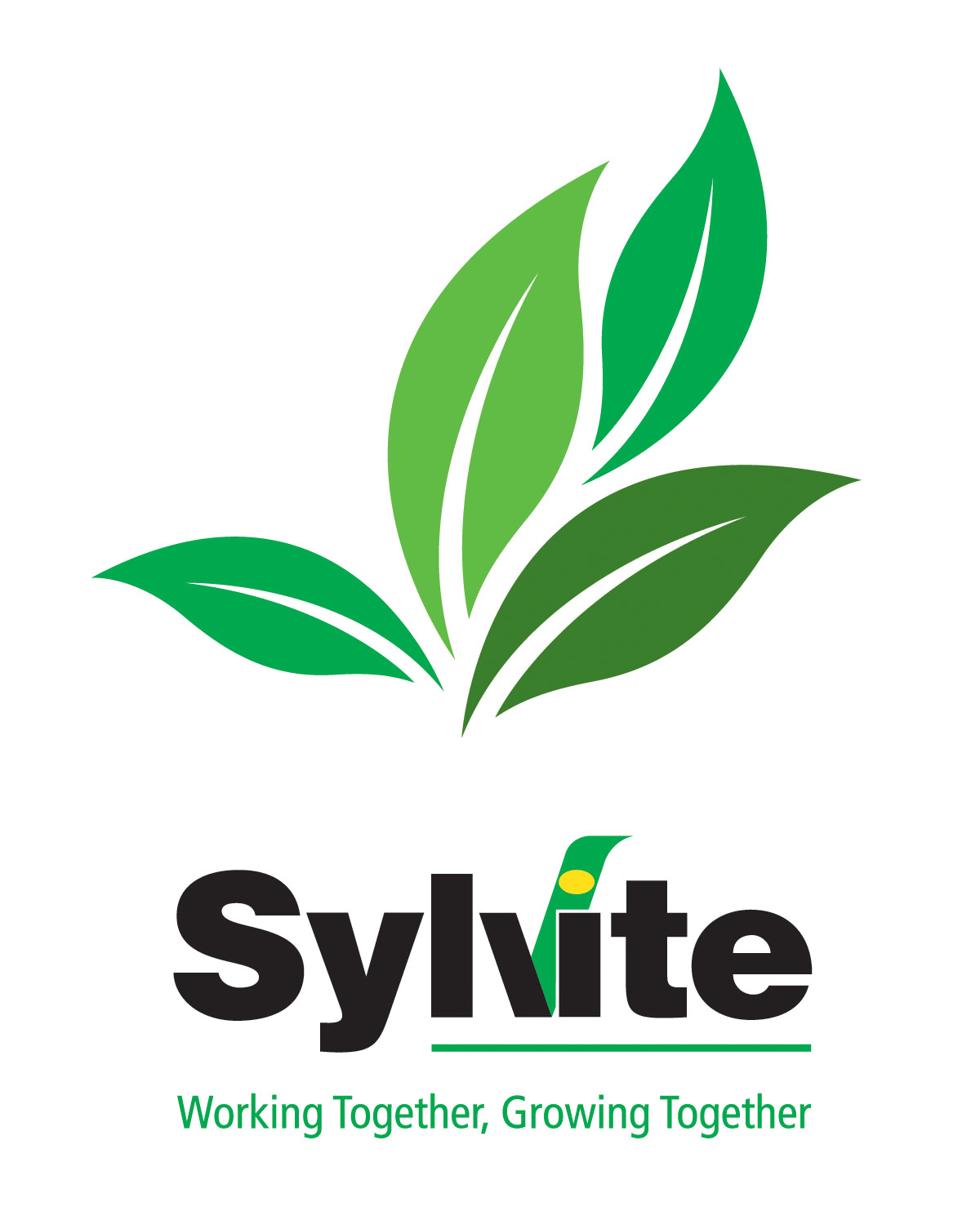 sylvite logo leaves on white rgb � golden horseshoe soil
